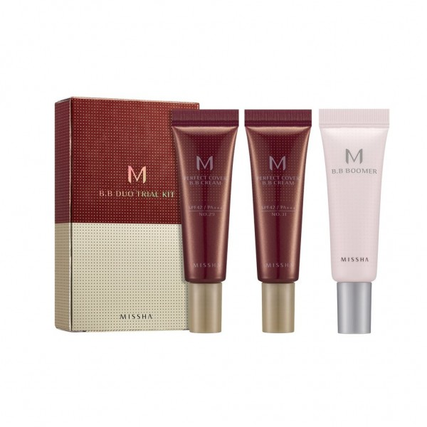 MISSHA M Perfect Cover BB Cream Trial Kit D (BB Boomer/No.29/No.31)
