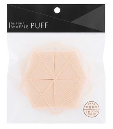 MISSHA Waffle Puff (4P)