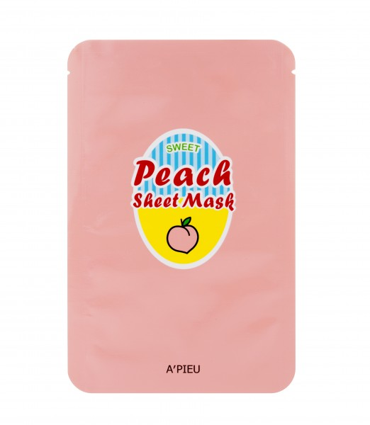 APIEU Peach & Yogurt Sheet Mask