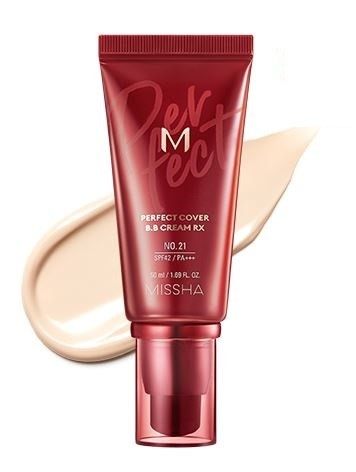 MISSHA M Perfect Cover BB Cream RX - 21 - Light Beige