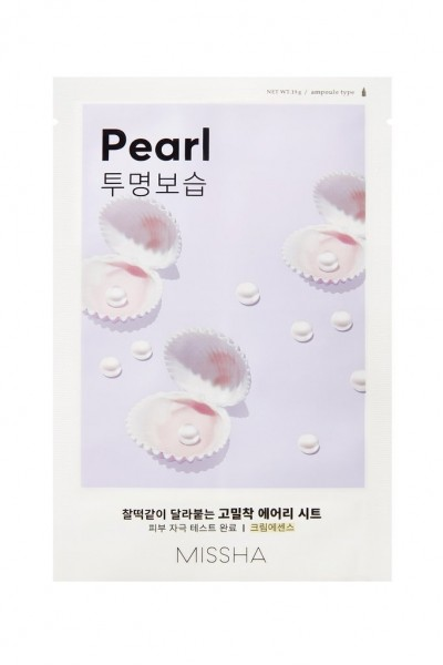 MISSHA Airy Fit Sheet Mask (Pearl)