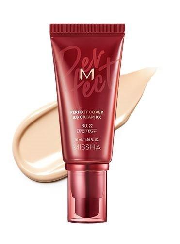 MISSHA M Perfect Cover BB Cream RX - 22 - Neutral Beige