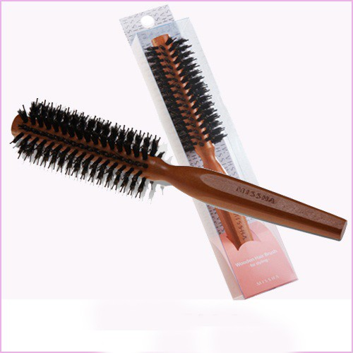 MISSHA Wooden Cushion Hair Brush (for Styling)