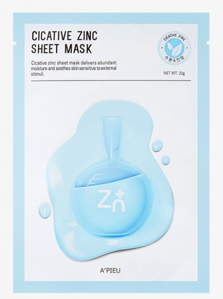 APIEU Cicative Zinc Sheet Mask