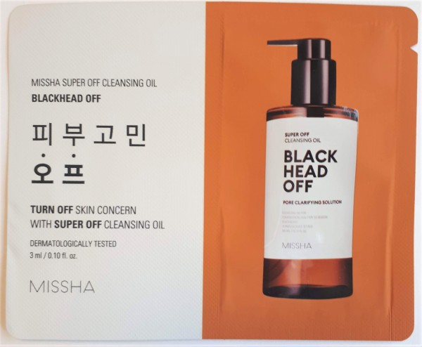MISSHA Tester Blackhead Off Cleansing Oil
