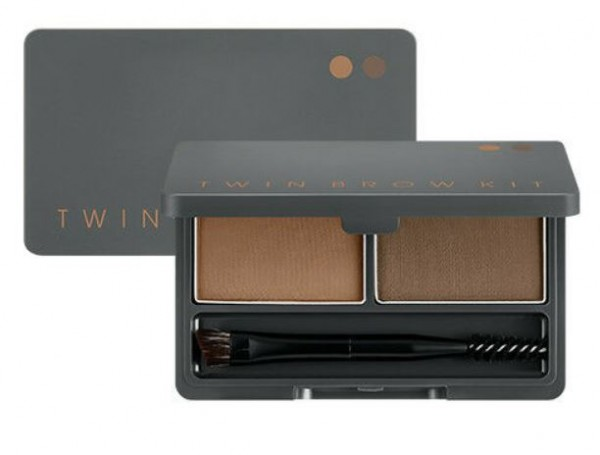 MISSHA Twin Brow Kit #1 Natural Brown