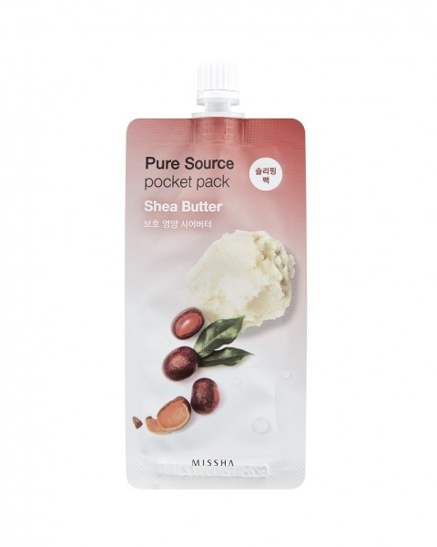 MISSHA Pure Source Pocket Pack (Shea Butter)