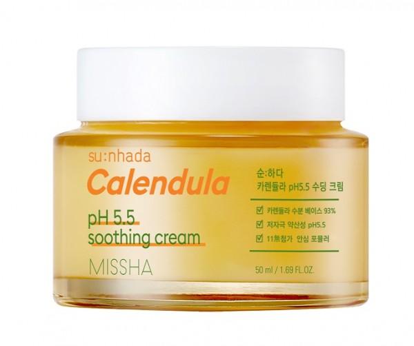 MISSHA Sunhada Calendula pH Balancing Soothing Creme
