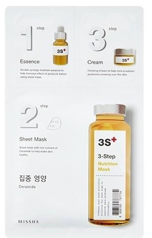 MISSHA 3step Nutrition Mask