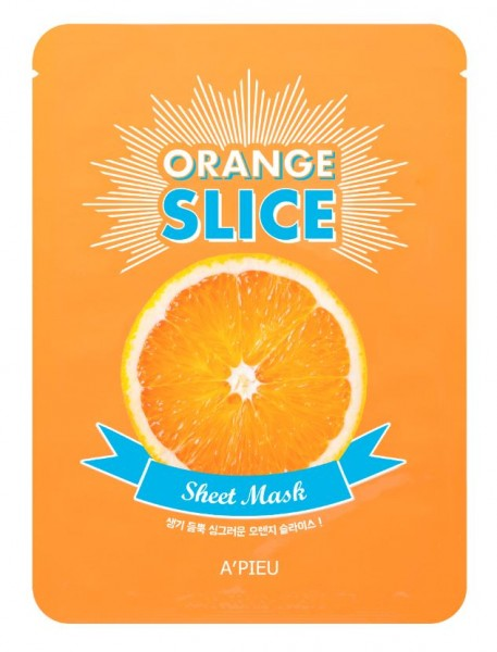 APIEU Orange Slice Sheet Mask