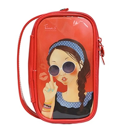 SUNGLASS Tina Enamel Pouch Lunch Box