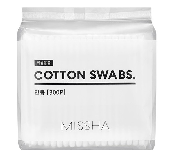 MISSHA Cotton Swabs (300 Swabs)