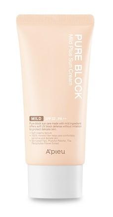 APIEU Pure Block Mild Plus Sun Cream SPF32/PA++