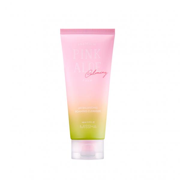 MISSHA Premium Pink Aloe Cleansing Foam