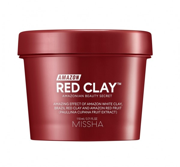 MISSHA Amazon Red Clay Pore Mask